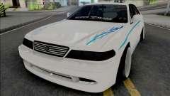 Toyota Mark II JZX100 SuperMade for GTA San Andreas