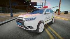 Mitsubishi Outlander - Ukrainian Police Patrol