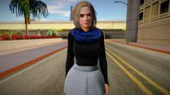 Christie Casual v2 (good skin) for GTA San Andreas
