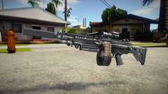M249 (good textures) for GTA San Andreas