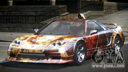 Honda NSX SP-R S8 for GTA 4