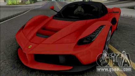 Ferrari LaFerrari [Fixed] for GTA San Andreas