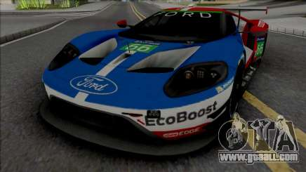 Ford GT Le Mans 2016-2019 for GTA San Andreas