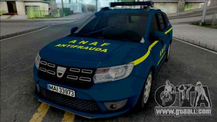 Dacia Logan MCV 2018 ANAF Antifrauda for GTA San Andreas