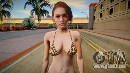 RE3 Remake Jill Valentime Bikini v3 for GTA San Andreas
