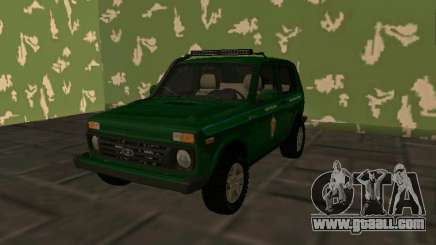Vaz 2121 Niva FSB of the Russian Federation for GTA San Andreas
