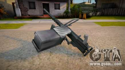 Heavy Machine Gun for GTA San Andreas