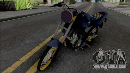 Yamaha Vixion Old Herex for GTA San Andreas