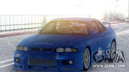 Nissan Skyline GT-R BCNR33 TBK for GTA San Andreas