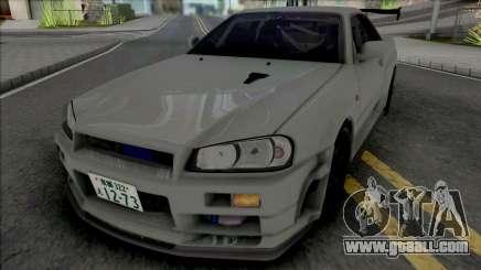 Nissan Skyline GT-R R34 JP for GTA San Andreas