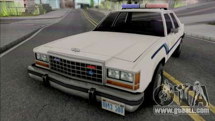 Ford Crown Crown Vic 1986 Fort Carson Police for GTA San Andreas