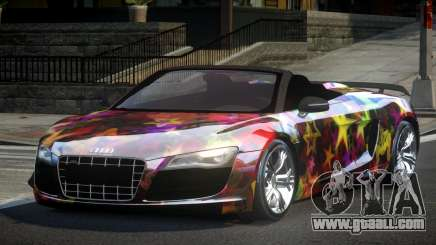 Audi R8 SP Roadster PJ5 for GTA 4