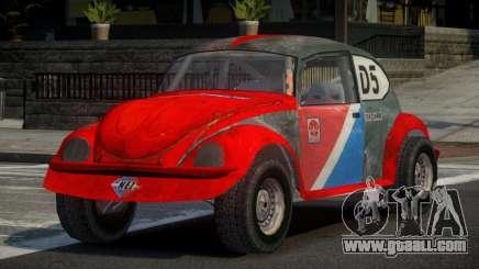 Volkswagen Beetle Prototype from FlatOut PJ4 for GTA 4