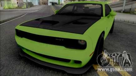 Dodge Challenger SRT Hellcat [Fixed] for GTA San Andreas