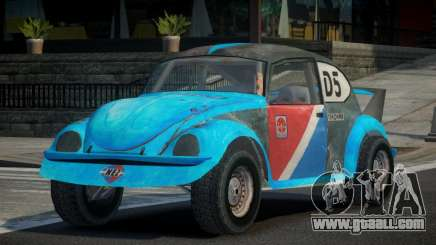 Volkswagen Beetle Prototype from FlatOut PJ2 for GTA 4