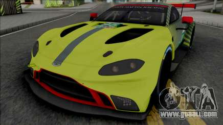 Aston Martin Vantage GTE 2019 for GTA San Andreas