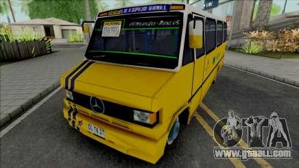 Mercedes-Benz LO 809 Inrecar for GTA San Andreas