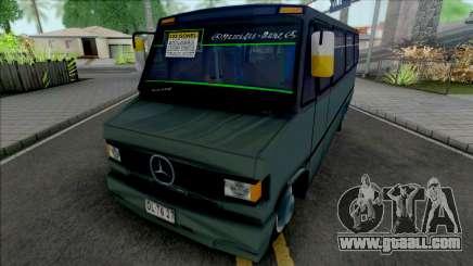 Mercedes-Benz LO 809 Inrecar v2 for GTA San Andreas
