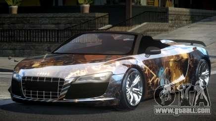 Audi R8 SP Roadster PJ8 for GTA 4