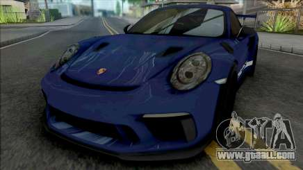 Porsche 911 GT3 RS 2018 (SA Lights) for GTA San Andreas
