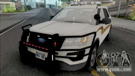 Ford Explorer 2017 Fayette County Sheriff for GTA San Andreas
