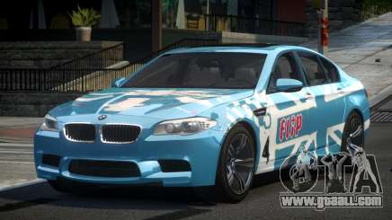 BMW M5 F10 PSI-R S5 for GTA 4