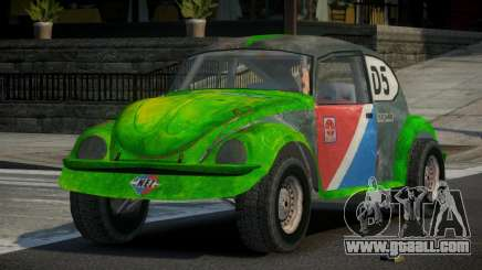 Volkswagen Beetle Prototype from FlatOut PJ3 for GTA 4