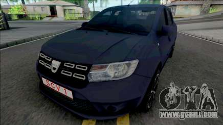 Dacia Logan Pope Edition for GTA San Andreas
