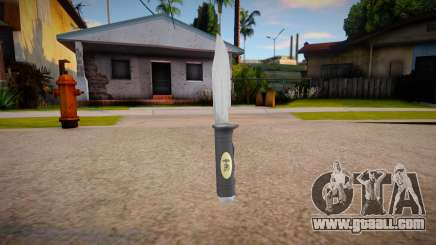 The Expendables Knife Skin mod for GTA San Andreas