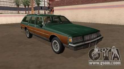 Buick LeSabre Station Wagon 1988 Wood for GTA San Andreas