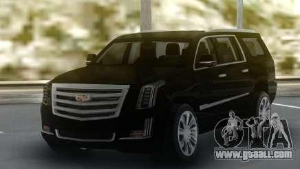 Cadillac Escalade Black Series for GTA San Andreas