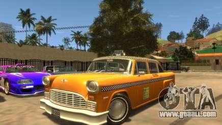 Cabbie SA for GTA 4