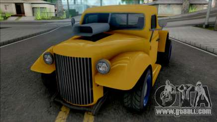 GTA V Bravado Rat-Truck [VehFuncs] for GTA San Andreas