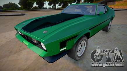 1971 Ford Mustang Mach 1 Richard Hammond for GTA San Andreas