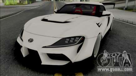 Toyota Supra GR 2020 Varis for GTA San Andreas