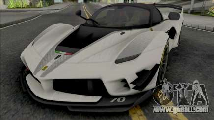 Ferrari FXX-K Evo for GTA San Andreas
