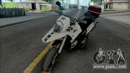 Honda XRE 300 2015 PMESP for GTA San Andreas