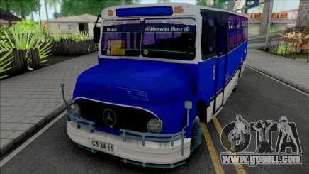 Mercedes-Benz LO 1113 Metalpar Ami 1980-1984 for GTA San Andreas