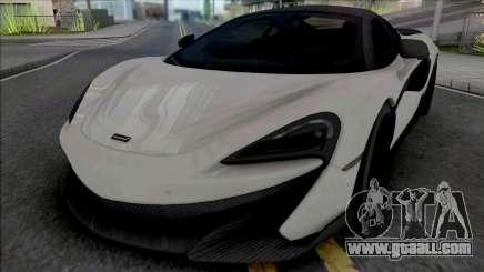 McLaren 600LT for GTA San Andreas