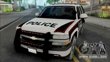 Chevrolet Tahoe 2001 Bosnian Livery Style for GTA San Andreas