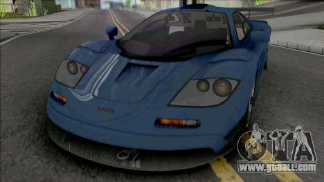 McLaren F1 Shift 2 Edition for GTA San Andreas