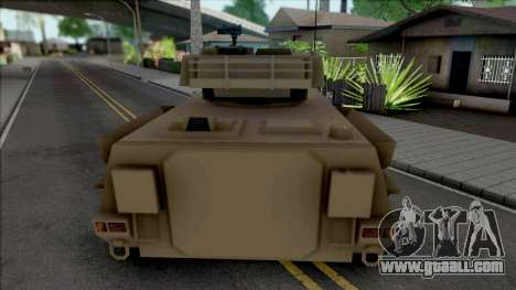 HVY Defender [SA Style] for GTA San Andreas