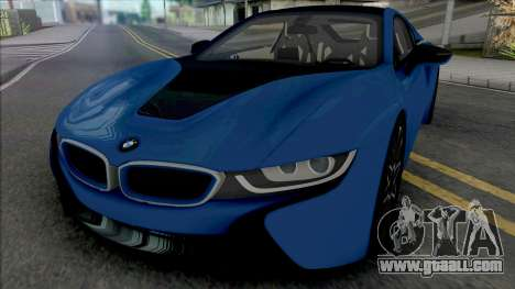 BMW i8 Coupe [HQ] for GTA San Andreas