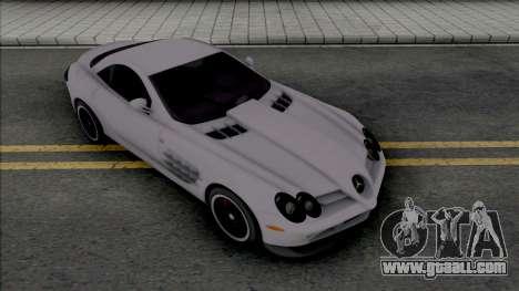 Mercedes-Benz SLR McLaren [Fixed] for GTA San Andreas