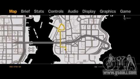 Old-Gen V Style Black on White Radar - Minimap for GTA 4