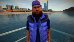 African-American with a beard for GTA San Andreas