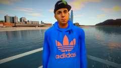 Latinos Adidas style for GTA San Andreas