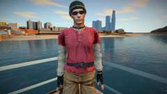 Chris from Resident Evil for GTA San Andreas