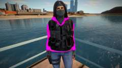 The girl-killer for GTA San Andreas