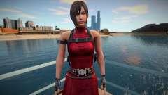 Ada Wong red short dress for GTA San Andreas